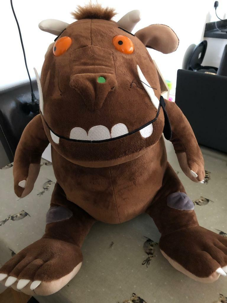 f9b3b81e6d SOLD Large Gruffalo Plush toy with sounds (bought from Chessington ...