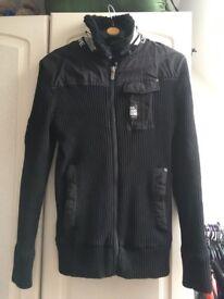 Mans crosshatch jacket small