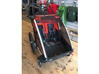 Thule Chariot Cross 2 Multi Sport Trailer - Bike Trailer / Stroller - Store demonstrator