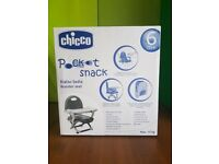 Chicco pocket snack booster ((Brand New!!!))