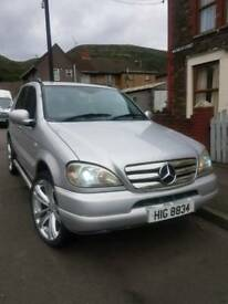 Mercedes-Benz ML270 DISEAL 170BHP 9 Months Mot Private Plate