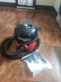 Henry hoover used once