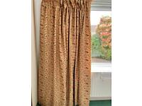 Beautiful Embroidered Curtains fully lined