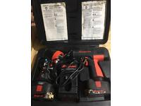 """Snap on 1/2"""" impact gun and torch in the case"""