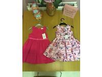 Girls dresses 1 an a half to 2 yrs