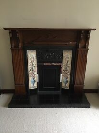 Fireplace, Insert and Hearth