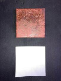 Over 100 Tiles - 10x10cm. Lovely colour