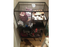 4 Tier rat cage / small animal cage