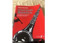 Clarinet basics learning book