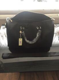 LV Black Weekend Bag Small