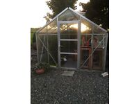 Greenhouse Toughened Glass for sale
