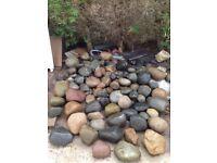 Decorative, Pebbles, Rockery, landscaping, Large good variation.