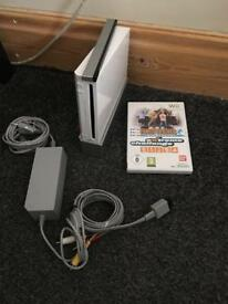 Nintendo Wii - Console and free game.