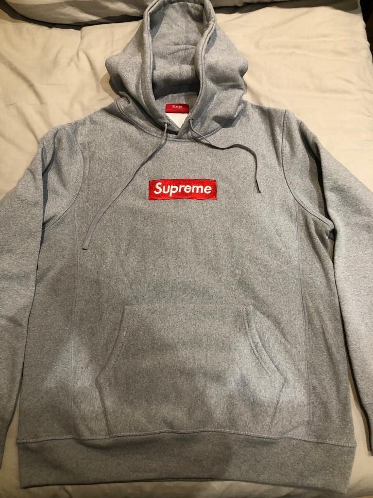 80da937bd664 Supreme hoodie box logo