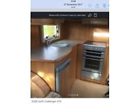 Swift challenger 470 2 berth 2006 as motor movers 2 awning comes with lots of extras price £5750