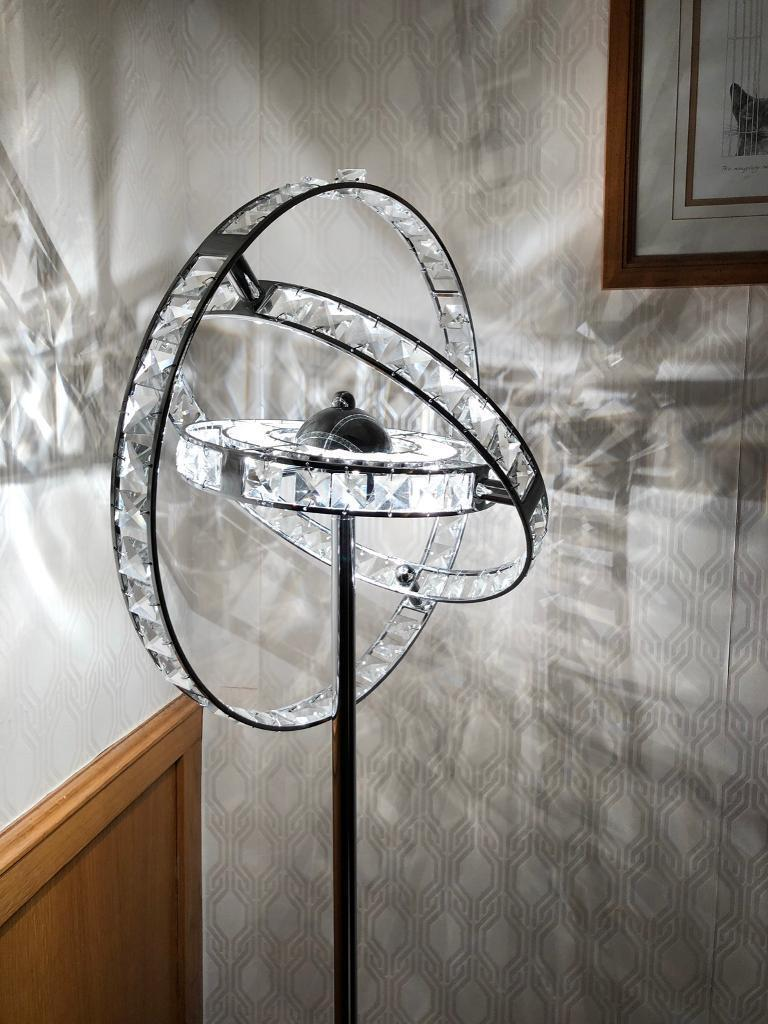 Dar Lighting Eternity Gyroscope Style Crystal And Chrome Floor Lamp In South Shields Tyne Wear Gumtree