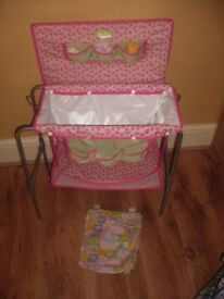 Lovely Silver Cross Dolls 2 In 1 Changing Table / Dolls Bath