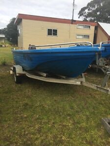 Marine Surveyed Polycraft Hire Boat and trailers. Bemm River East Gippsland Preview