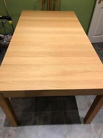 """Extendable table """"Bjursta""""(Ikea) like new."""