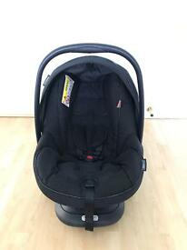 Bebecar navy blue baby carseat