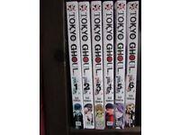 Manga: Sui Ishida, Tokyo Ghouls vols 1-2 (only)