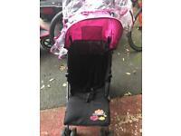 Pink my child stroller
