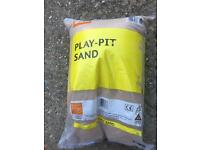 3 BAGS OF B & Q PLAY PIT SAND NEW