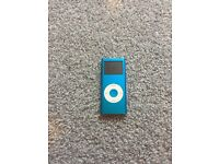iPod nano 4gb bright blue