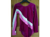 GIRL'S JENETEX DANCE / GYMNASTICS LEOTARD. SIZE 1B