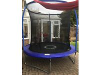 Trampoline for sale - 10 foot with safety net included