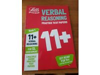11+ Verbal reasoning 4 Practise Test Papers for GL Assessment