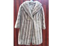 Vintage Mink Imitation Fur Coat