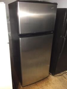 Amana Stainless Steel Fridge, Free Warranty, Save The Tax