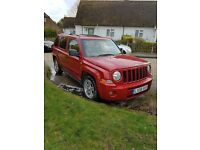 Jeep patriot 2008 years mot vgc