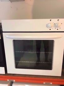 Built in electric oven and grill , White