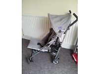 CHICCO LIGHTWAY AS NEW BUGGY