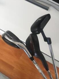 Dunlop driving iron, putter and wedge