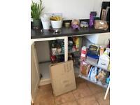 Kitchen corner cupboard pull out storage