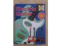 Electric guitar manual book .