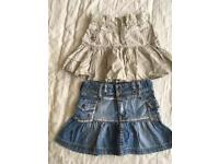 Girl skirts 3-4 years