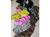 Huge bundle clothes, 8-10 ×2 binbags