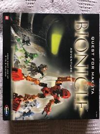 LEGO BIONICLE QUEST FOR MAKUTA BOARDGAME