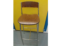 Bistro Style Round Table and 5 Chairs by Altek, Italian.