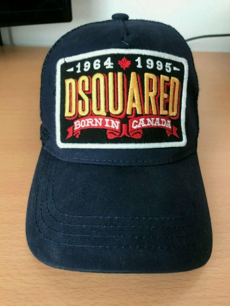 1e68c79309a Dsquared mesh blue cap