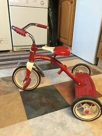 Retro Red Radio Flier Trike