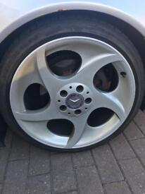 Mercedes alloys, alphard