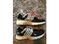 475b04f83 Nike off white size 9 new with box