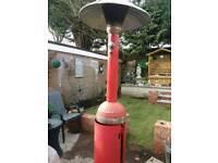 Gas patio heater.