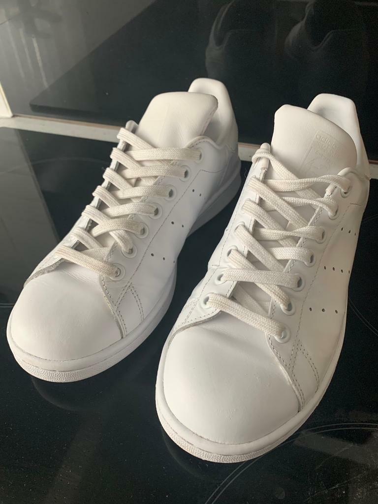 san francisco cf98e 65895 All White Adidas Stan Smith size uk 5 23.5 cm ladies Rrp £55 | in Gosforth,  Tyne and Wear | Gumtree