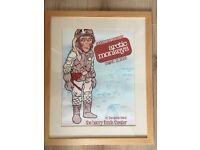 Original Framed 2006 Arctic Monkeys Concert Poster